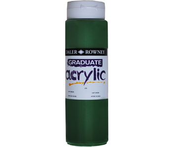 GRADUATE ACRYLIC 500ML SAP GREEN