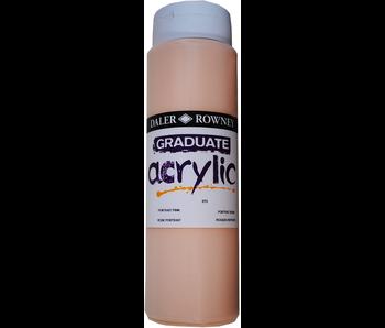 GRADUATE ACRYLIC 500ML PORTRAIT PINK
