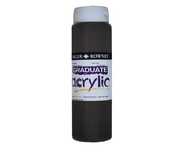 GRADUATE ACRYLIC 500ML RAW UMBER