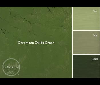 GAMBLIN ARTIST'S OIL COLORS 37ML CHROMIUM OXIDE GREEN