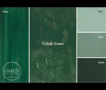GAMBLIN ARTIST'S OIL COLORS 37ML COBALT GREEN