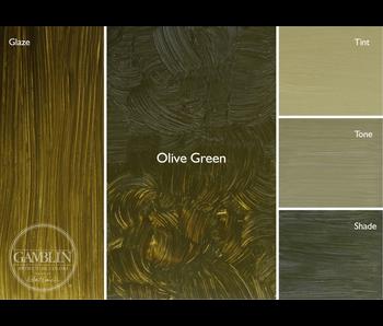 GAMBLIN ARTIST'S OIL COLORS 37ML OLIVE GREEN