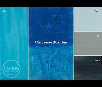 GAMBLIN ARTIST'S OIL COLORS 37ML MANGANESE BLUE HUE