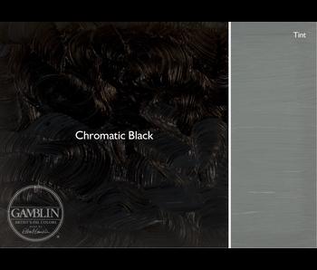 GAMBLIN ARTIST'S OIL COLORS 37ML CHROMATIC BLACK