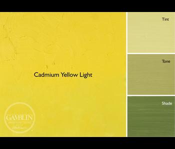 GAMBLIN ARTIST'S OIL COLORS 37ML CADMIUM YELLOW LIGHT