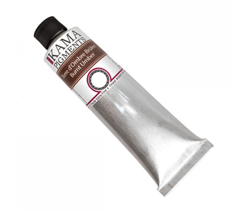 KAMA PIGMENTS ARTIST OIL 125ML BURNT UMBER