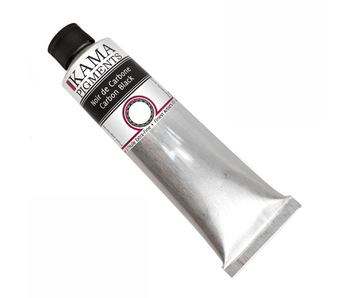 KAMA PIGMENTS ARTIST OIL 125ML Carbon Black