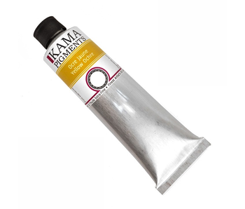 KAMA PIGMENTS ARTIST OIL 125ML YELLOW OCHRE