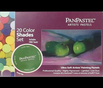 PanPastel 20 Colour Set Shades