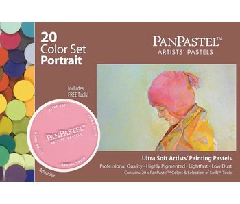 PanPastel 20 Colour Set Portrait