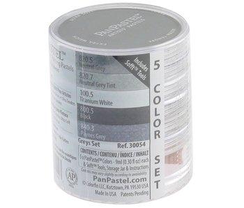 PanPastel 5 Colour Set Greys