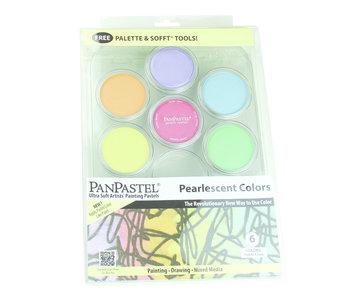 PANPASTEL PEARLESCENT PAINT SET/6