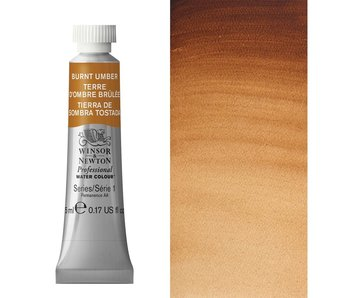W&N ARTIST'S WATER COLOUR 5ML BURNT UMBER