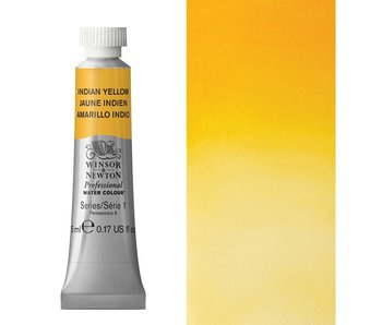W&N ARTIST'S WATER COLOUR 5ML INDIAN YELLOW