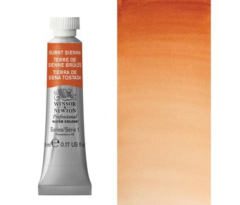 W&N ARTIST'S WATER COLOUR 5ML BURNT SIENNA