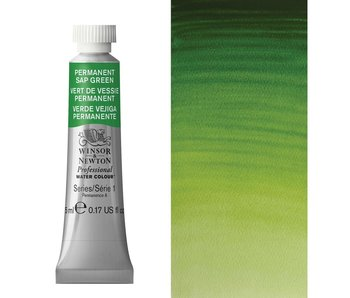 W&N ARTIST'S WATER COLOUR 5ML PERMANENT SAP GREEN