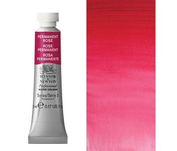 W&N ARTIST'S WATER COLOUR 5ML PERMANENT ROSE