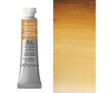 W&N ARTIST'S WATER COLOUR 5ML RAW UMBER