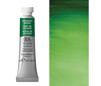 W&N ARTIST'S WATER COLOUR 5ML HOOKERS GREEN