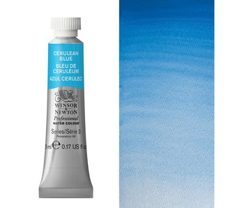 W&N ARTIST'S WATER COLOUR 5ML CERULEAN BLUE