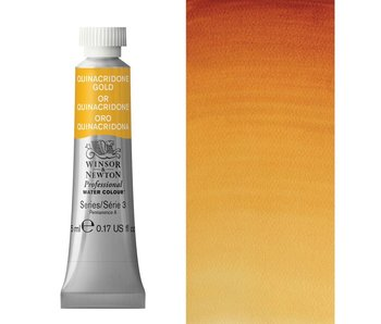 W&N ARTIST'S WATER COLOUR 5ML QUINACRIDONE GOLD