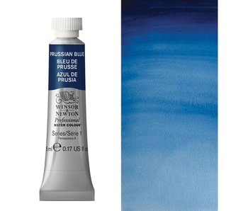 W&N ARTIST'S WATER COLOUR 5ML PRUSSIAN BLUE
