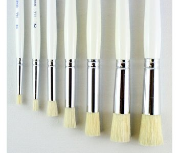 HJ SERIES 19 SHORT BRUSH BRISTLE STENCIL #6