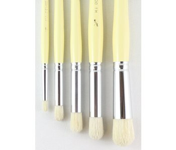 HJ SERIES 18 ROUND DOMED STIPPLE BRUSH SET