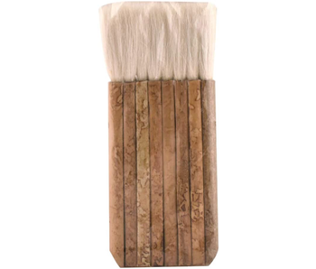 Yasutomo Hake Multihead Bamboo Brush with Sheep Hair Bristles 2.5""