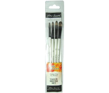 SIMPLY SIMMONS JUST FILBERTS BRUSH SET