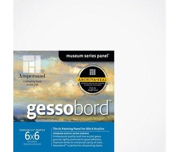 """AMPERSAND MUSEUM GESSOBORD 1.5"""" CRADLED 6x6"""