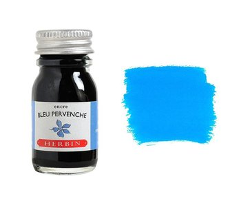 J. HERBIN FOUNTAIN PEN INK 10ML BLUE PERVENCHE BLUE