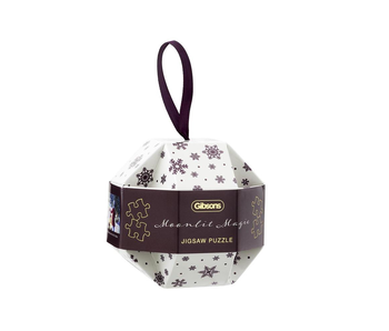 Gibsons Puzzle 200 Moolit Magic Bauble