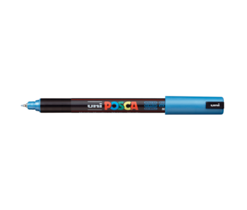 Posca PC-1MR Ultra Fine Metal Blue