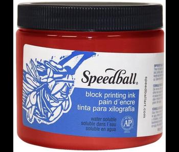SPEEDBALL BLOCK PRINTING INK 16OZ RED