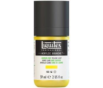 LIQUITEX ACRYLIC GOUACHE 59ML CADMIUM FREE YELLOW LIGHT
