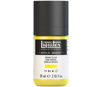 LIQUITEX ACRYLIC GOUACHE 59ML PRIMARY YELLOW