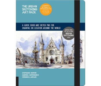 THE URBAN ART PACK SKETCH PAD ON LOCATION AROUND THE WORLD