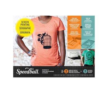 SPEEDBALL SCREEN PRINTING SUPER VALUE KIT