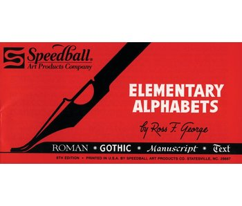 Speedball Elementary Alphabet Booklet