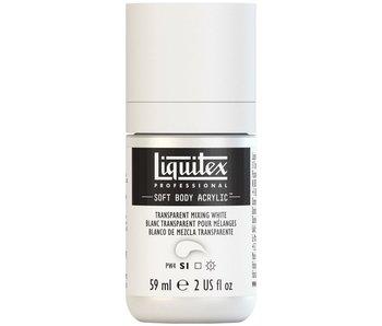 LIQUITEX SOFT BODY ACRYLIC TRANSPARENT MIXING WHITE 59ML