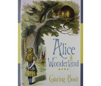 POMEGRANATE COLORING BOOK: ALICE IN WONDERLAND