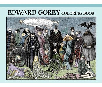 POMEGRANATE COLORING BOOK: EDWARD GOREY