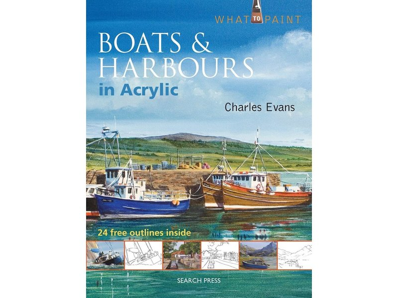 WT BOATS & HARBOURS Acrylic