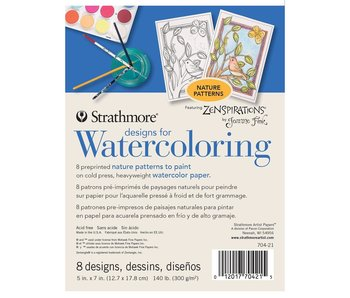 STRATHMORE READY TO PAINT DESIGNS FOR WATERCOLOUR NATURE