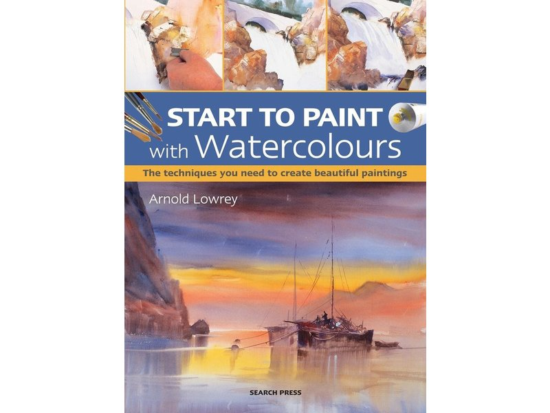 START TO PaintWatercolours BOOK