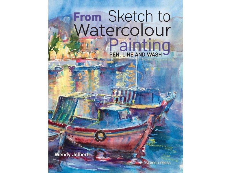 FROM SKETCH TO Watercolours PAINT