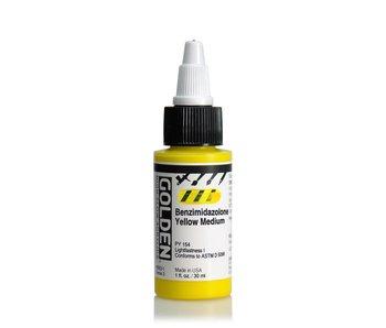 Golden High Flow 1oz Benzimidazolone Yellow Medium Series 3