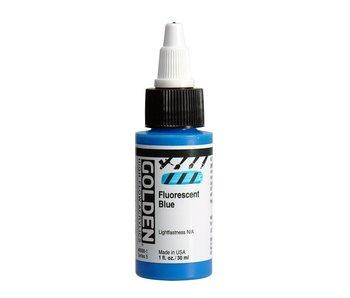 Golden High Flow 1oz Fluorescent Blue Series 5