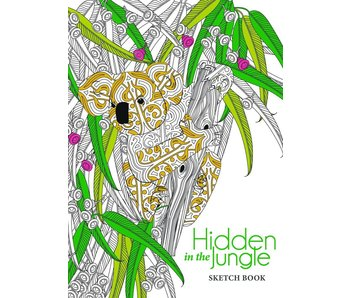 HIDDEN IN THE JUNGLE HARDCOVER SKETCHBOOK